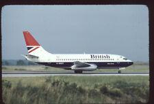 Orig 35mm airline slide British Airways 737-200 G-BGDT [0092]