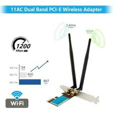 1200Mbps PCI-E Wireless WLAN Karte Bluetooth PCI Express 2,4GHz/5,0GHz für PC