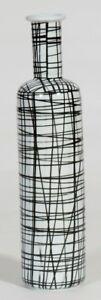 Xtra Tall Handpainted- Vase, black &white pattern(on Sale less than half price)