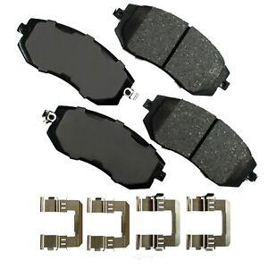 Disc Brake Pad Set-ProACT Ultra Premium Ceramic Pads Front Akebono ACT1539