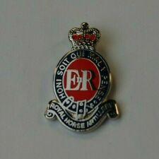 British Army - Royal Horse Artillery - RHA - Red - Regimental Lapel Pin Badge