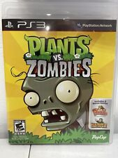 Plants vs. Zombies (Sony PlayStation 3, 2011) PS3 Video Game Complete