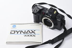 Minolta Dynax 7000i Camera - Body only with Original Instructions