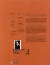 #0518 37c Arthur Ashe - Tennis Star #3936 Souvenir Page