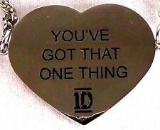 "NEW 1D Lyric Necklace Fashion Jewelry Chain Necklace ""You Got That One Thing"""