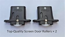 Adjustable Sliding Security/ Fly Screen Door Rollers ( 1 Pair ) Free Postage