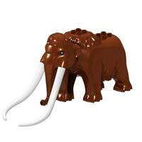 Woolly Mammoth Arctic Lego Custom Minifigures Building Blocks Kids Toy