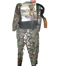 Camouflaged Skull Commander Costume with Face Mask Size S 4-6