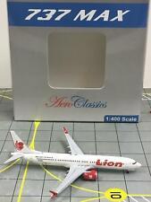 NEW AeroClassics 1:400 Lion Air Boeing 737 -Max9 N739EX