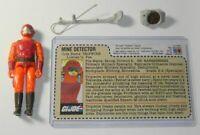 1985 GI Joe Tripwire Listen N Fun v2 Figure Accessories *Custom Uncut File Card*