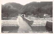 San Luis Buenos Aires Canal de Riego Real Photo Antique Postcard J66469