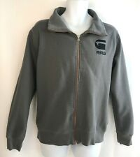 Design By G-Star RAW Correct Line Full Zip Grey Jacket Men's Size Large