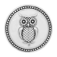 Button Click Klick 9306 Eule  für Chunk  20mm Armband
