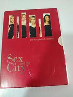 SEX AND THE CITY SEXO EN NUEVA YORK SEASON 5 COMPLETE - 2 DVD ENGLISH GERMAN AM