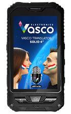 """Vasco Translator SOLID 4"""" Stoßfester, unzerstörbarer Übersetzer für 40 Sprachen"""