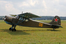 Yak-12 Creek Russia AF Yakovlev Airplane Desktop Wood Model Big New