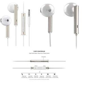 GENUINE HUAWEI AM116 EARPHONES HANDSFREE FOR P20 HONOR 10 P8 LITE P9 LITE P10