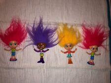 Lot of Mc Donald's 2004 Mini Trollz Dolls