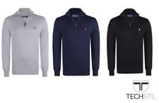 ✅ Ralph Lauren Pullover Zipper für Herren Men 100% Baumwolle S-XXL✅