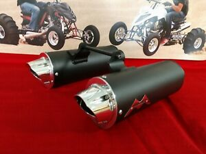 Yamaha Raptor 660 Monster Pipe Dual Exhaust System  MonsterPipe YFM660r