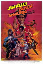 BLACK SAMURAI Movie POSTER 27x40 Jim Kelly Essie Lin Chia Marilyn Joi DUrville