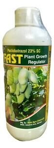Paclobutrazol 23% SC : Plant Growth Regulator - for Mango & Grapes (1000 ml)