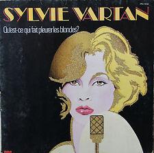 """Vinyle 33T Sylvie Vartan """"Qu'est ce qui fait pleurer les blondes ?"""""""