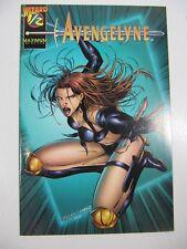 Avengelyne Wizard #1/2  VF Free Shipping!! COA Maximum comics