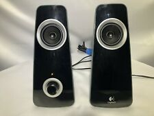 Logitech Z320 Compact computer Speaker Set System 2.0 10 RMS Watts Tested/Works
