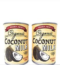 3 NEW TRADER JOES Organic Coconut Milk 13.5 oz