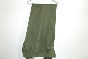 Gore Tex Pants R&R Uniforms Green 2 Extra Large Long 2XL Zip Off Hunting Camping