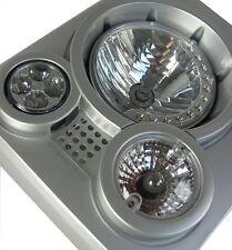 SVX style front light lamp kit Land Rover Defender 90 110 grille head VPLDV0001