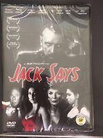 Jack Says, DVD, region 0, New