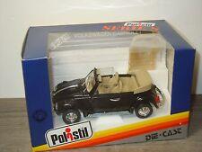 VW Volkswagen Beetle Cabriolet - Polistil Serie S Italy 1:25 in Box *28796