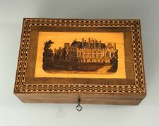 More details for antique tunbridgeware work box abzx