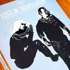 Lost In Translation European Pop Art Poster Scarlett Johansson Sofia Coppola