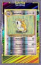🌈Rattatac Reverse - XY12:Evolutions - 67/108 - Carte Pokemon Neuve Française