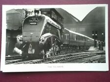 POSTCARD RP LOCO NO 60028 HAULING THE TAILSMAN