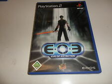 PlayStation 2 PS 2 Eve of Extinction