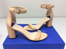 Stuart Weitzman 75 Less Nudist Bambina Nappa Leather heels size 5 M Sandal