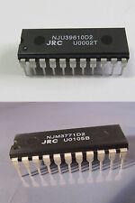 Nju39610d2 + njm3771d2 JRC dip22 MOTOR CONTROLLER DUAL DAC-Stepper Driver njr