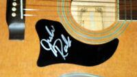 Julie Roberts Autographed Signed Natural Acoustic Guitar AFTAL