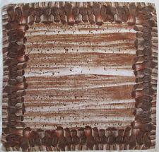 -Superbe Foulard  ESCADA  soie   TBEG  vintage Scarf 86 x 88 cm
