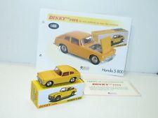 Dinky toys voiture HONDA S 800, dinky atlas ref 1408