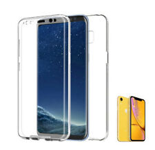 "Apple Iphone XR 6'1"" funda carcasa 360 DOBLE cara DELANTERA +TRASERA RIGIDA"