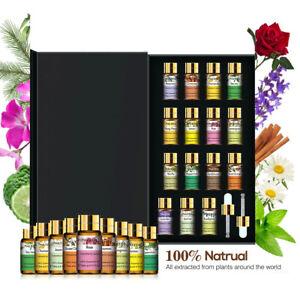 Ätherische Öle Set - 15 Düfte x 5ml - Einsteigerin Rein Öle Natürliche - duftöl
