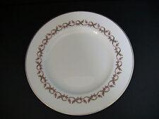 """Wedgwood Sandhurst China White Dinner Plates 10 3/4""""/ Set of 4"""