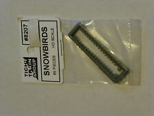 Tichy Train Group #8207 HO Snowbirds Roof-Mounted Snow & Ice Catchers