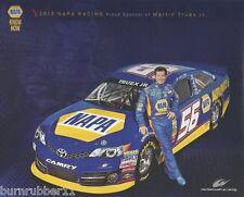 "2013 MARTIN TRUEX JR ""NAPA AUTO PARTS #56"" NASCAR SPRINT CUP POSTCARD"