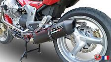 SILENCIEUX GPR FURORE ALU NOIR MOTO GUZZI BREVA 850 2006/11